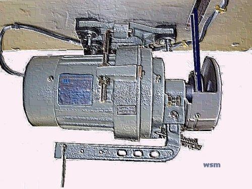 sewing machine clutch motor adjustment